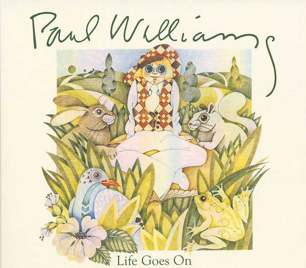 PAUL WILLIAMS - LIFE GOES ON - FRONT COVER