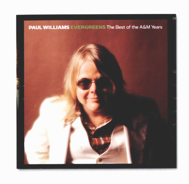 PAUL WILLIAMS - EVREGREENS - BOOKLET FRONT COVER
